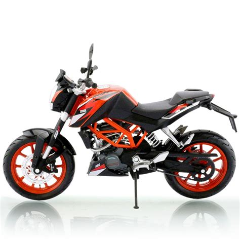 Ktm Duke 200 Feedback New Arrival 1 12 Alloy Abs Motorcycle Model For Ktm