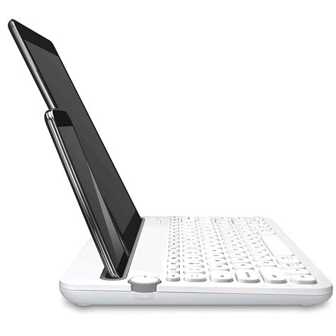 K 480 Bluetooth Multi Device Keyboard Blackwhite logitech bluetooth multi device keyboard k480 white