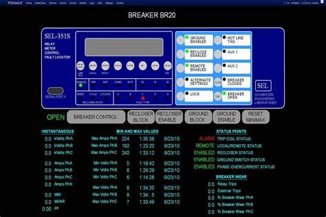 design criteria  human machine interface hmi   substation