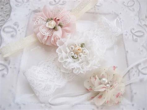 shabby chic baby gifts preemie headband baby gift headband set newborn baby gift