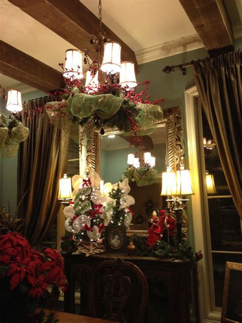 42 best images about christmas formal dining rooms on