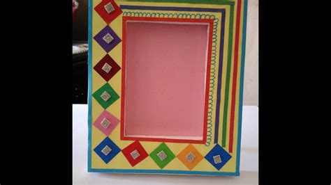 Beautiful Handmade Photo Frames - how to make small paper picture frames galleryimage co