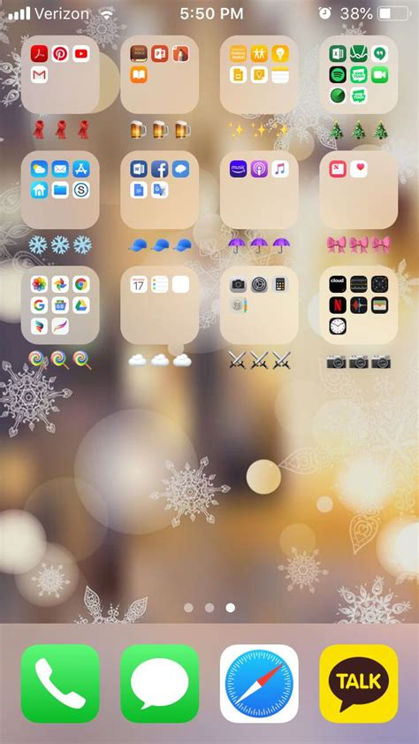 color coded apps iphone aesthetic christmas edition   iphone app layout organize apps