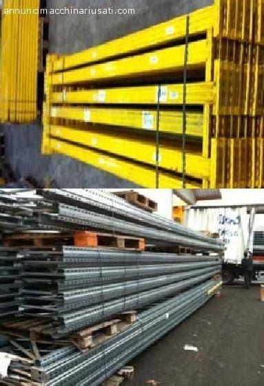 metalsistem scaffali scaffalatura metalsistem unibuild usata treviso 19