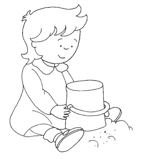 dibujos para colorear caillou dibujos para colorear de caillou plantillas para colorear