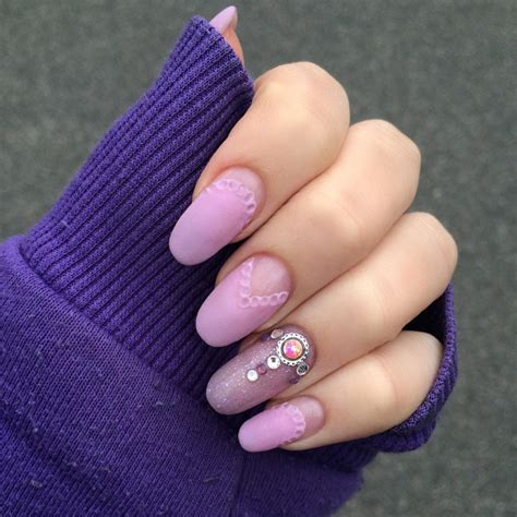 matte purple nail 38 matte nail designs ideas design trends