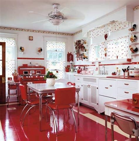 red and white kitchens ideas red and white country kitchen home decorating ideas