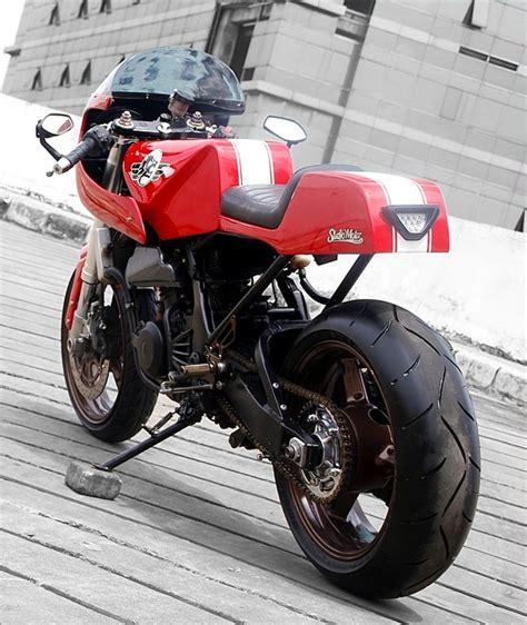 Lu Projie Untuk Vixion rubah konsep dengan half fairing kawasaki 250 08 studiomotor custom bike