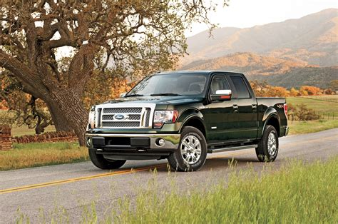 2012 Ford F 150 Ecoboost by 2012 Ford F 150 Lariat 4x4 Ecoboost Front Three Quarters
