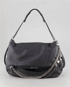 Fvbs Sale Blacy Bag Black Jimmy Choo Biker Large Hobo Bag In Black Lyst