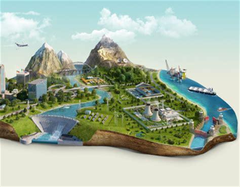 birt layout landscape cgi islands on behance