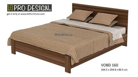 Ranjang Bigland harga ranjang kayu vobd 160 volta prodesign