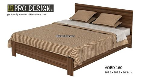 Rangka Ranjang harga ranjang kayu vobd 160 volta prodesign