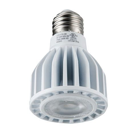 Led Light Bulb Brands Light Efficient Design Led 1735 30k B Bulb Par20 8w 50w Replacement Great Brands Outlet