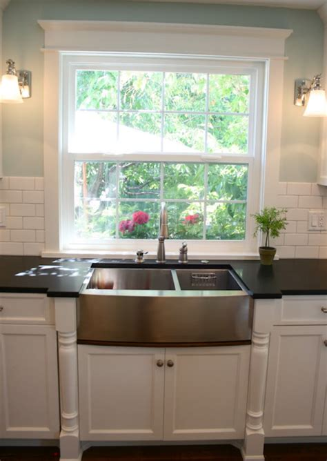 stainless steel apron sink white cabinets stainless steel apron sink design ideas