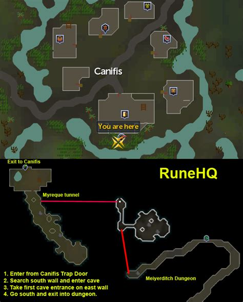 meiyerditch dungeon runescape guide runehq