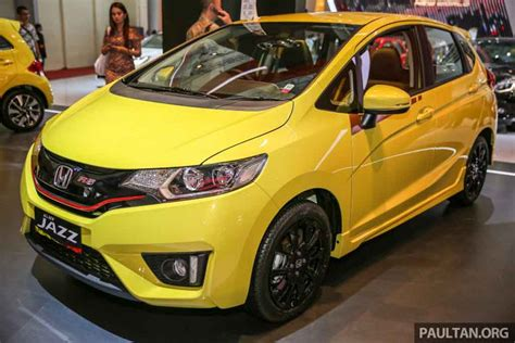 honda jazz rs cvt special edition showcased at giias 2016