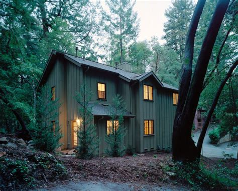 mayfield architects 187 redwood cabin mount hermon