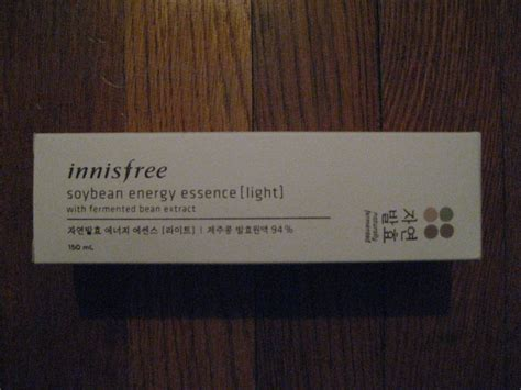 Harga Innisfree Soybean Firming Serum Review review innisfree soybean energy essence in light
