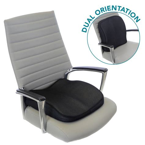 chair seat memory foam seat cushion for lower back support seat