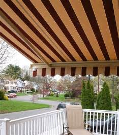 striped awnings by breslow traditional patio newark