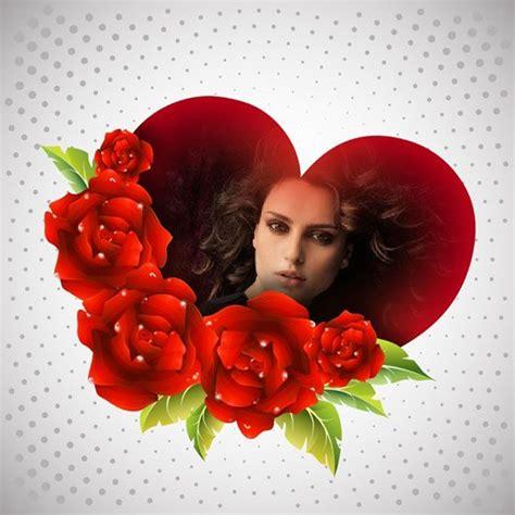 imagenes de rosas con corazones 53 best images about fotoefectos de amor on pinterest