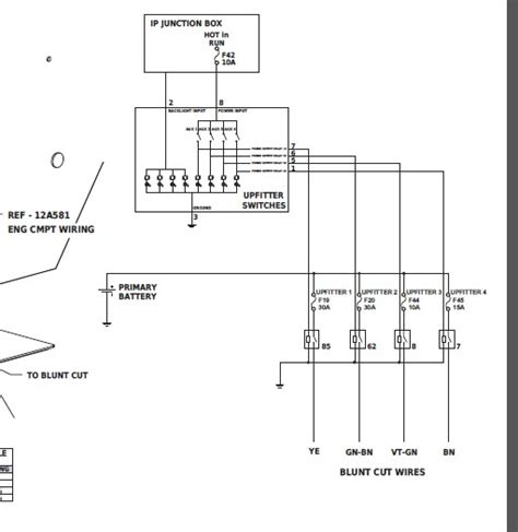 2008 ford f250 aux switch panel wiring diagram