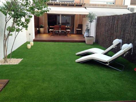 artificial grass for patio jardines con cesped artificial para la decoraci 243 n de la casa