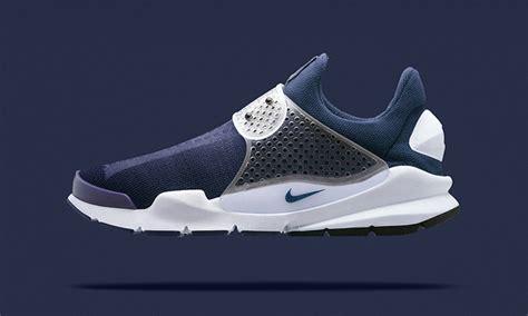 Nike Shock Dart Blue fragment design x nike sock dart quot obsidian quot highsnobiety