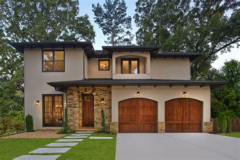 garage style homes clopay reserve collection wood carriage house style garage