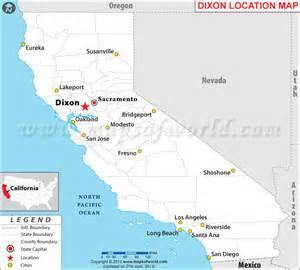 where is dixon california