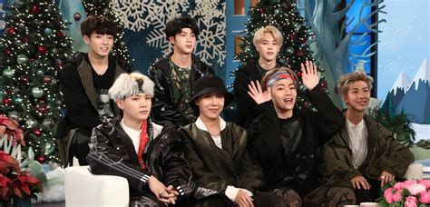 bts the ellen show bts learned english by watching friends watch now