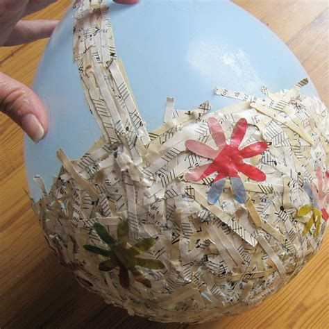 Paper Basket Craft Ideas - paper mache easter basket munchkins and