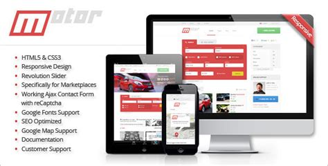 20 Best Retail Php Themes Free Website Templates Marketplace Website Template
