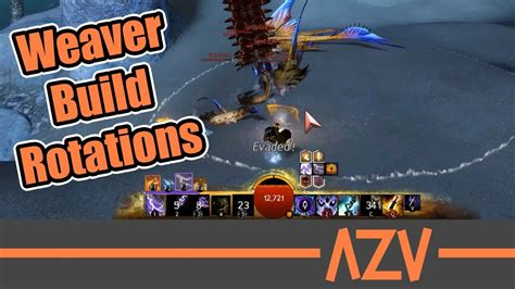weaver pve staff build ability rotations and gameplay guild wars 2 path of fire youtube