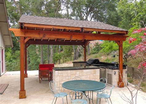 backyard covered pergola covered pergolas for an outdoor kitchen