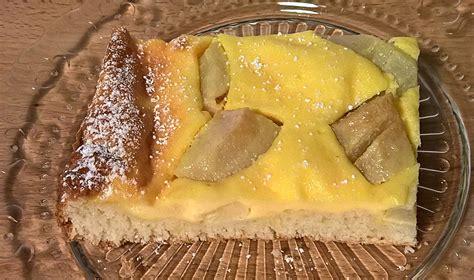 birnen schmand kuchen birnen schmand kuchen vom blech beliebte rezepte f 252 r