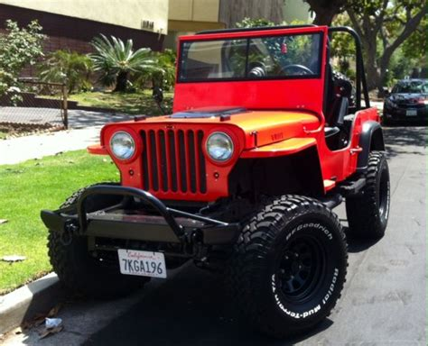 1947 Willys Jeep For Sale 1947 Jeep Willys Cj 2 For Sale Photos Technical