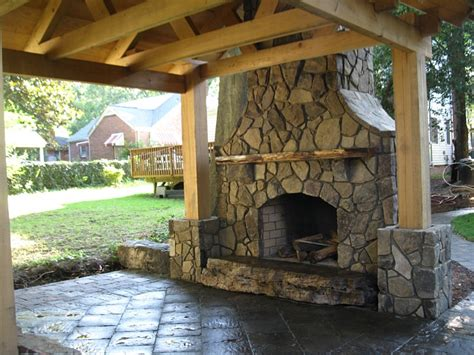 outdoor pits and fireplaces landscaping outdoor kitchens garner