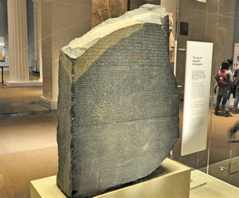 rosetta stone old norse the rosetta stone in the british museum london leon s