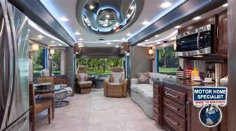 Motor Home Interiors by 1 2m Foretravel Luxury Rv Review For Sale At Motor Home
