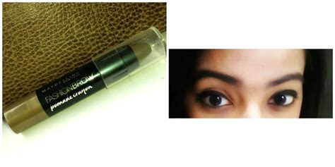 Maybelline Brow Pomade Crayon maybelline fashion brow pomade crayon mocha review