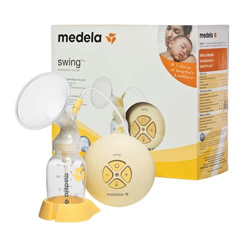 Medela Swing Electric Breast Pump With Calma Solitaire