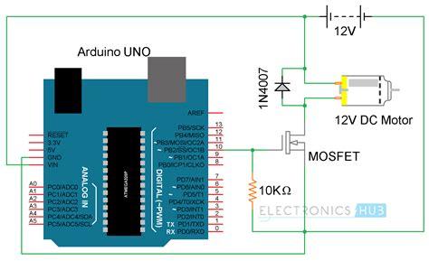 code arduino pwm arduino dc motor control using l298n motor driver pwm