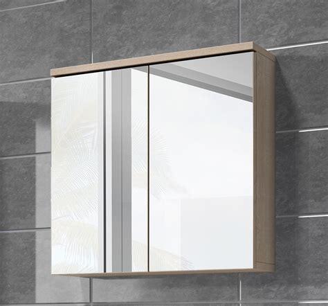 spiegelkast badkamer 60 cm spiegelkast toledo 60cm licht eiken badplaats