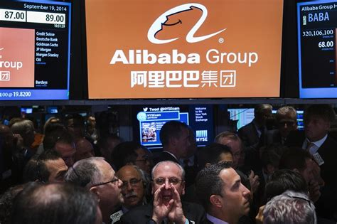 alibaba nyc alibaba ipo biggest in history as bankers exercise green