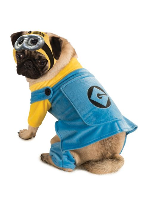 minion costumes for dogs minion pet costume