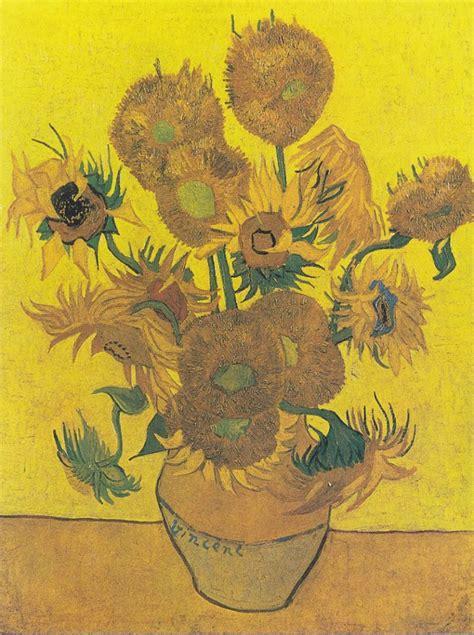 vaso con girasoli gogh girasoli gogh dove sono i 5 quadri nel mondo