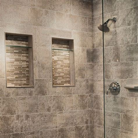 recessed shelving in shower yep more ideas for my home