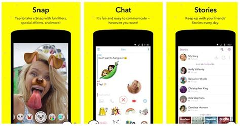snapchat apps android screenshot snapchat and recover snapchat photos on android